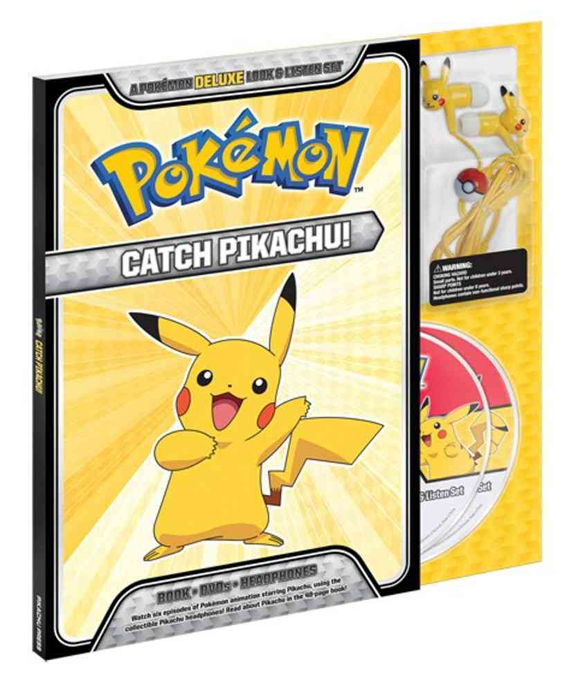 Catch Pikachu! Deluxe Look and Listen Set By Pikachu Press (COR)